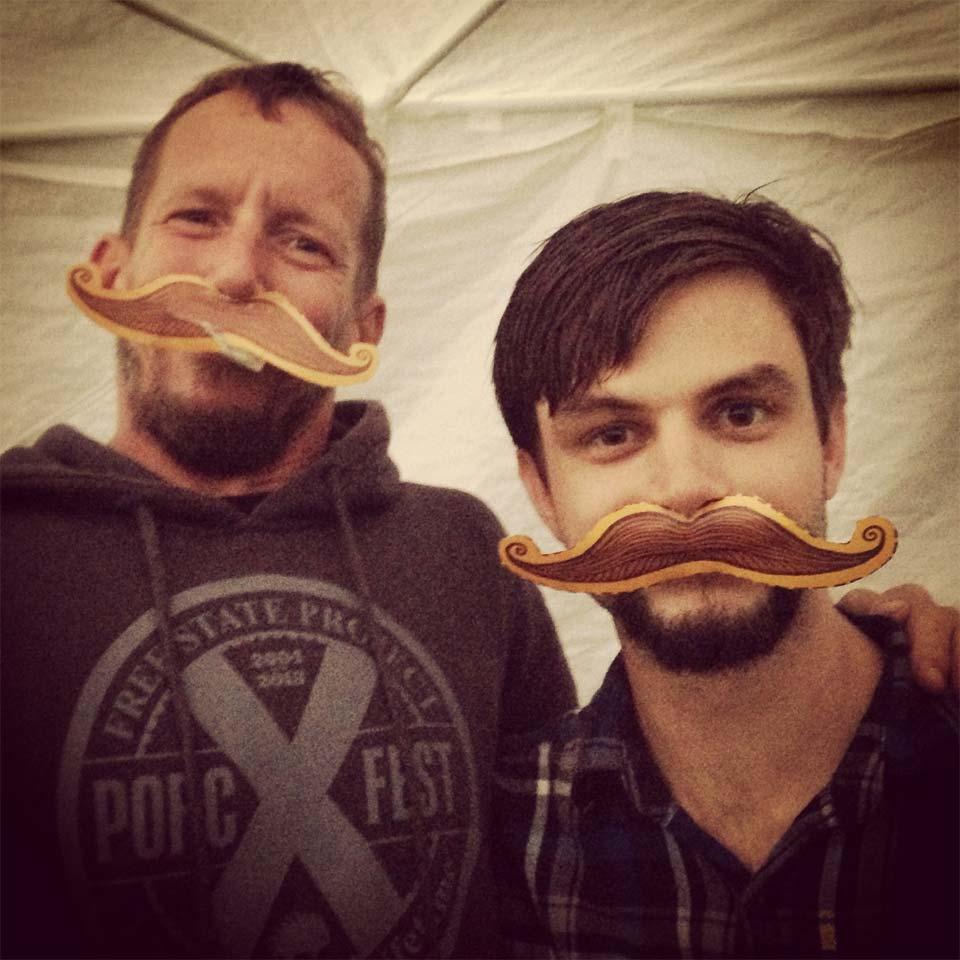 PorcFest mustaches