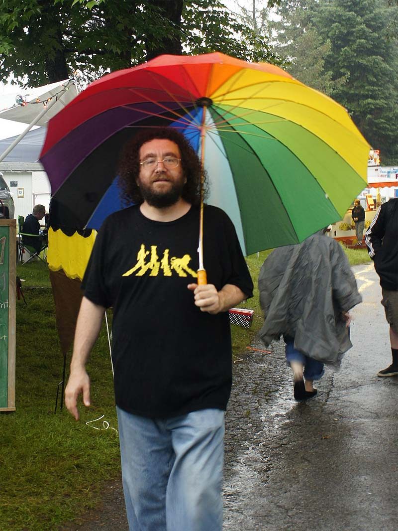 PorcFest Rain Umbrella