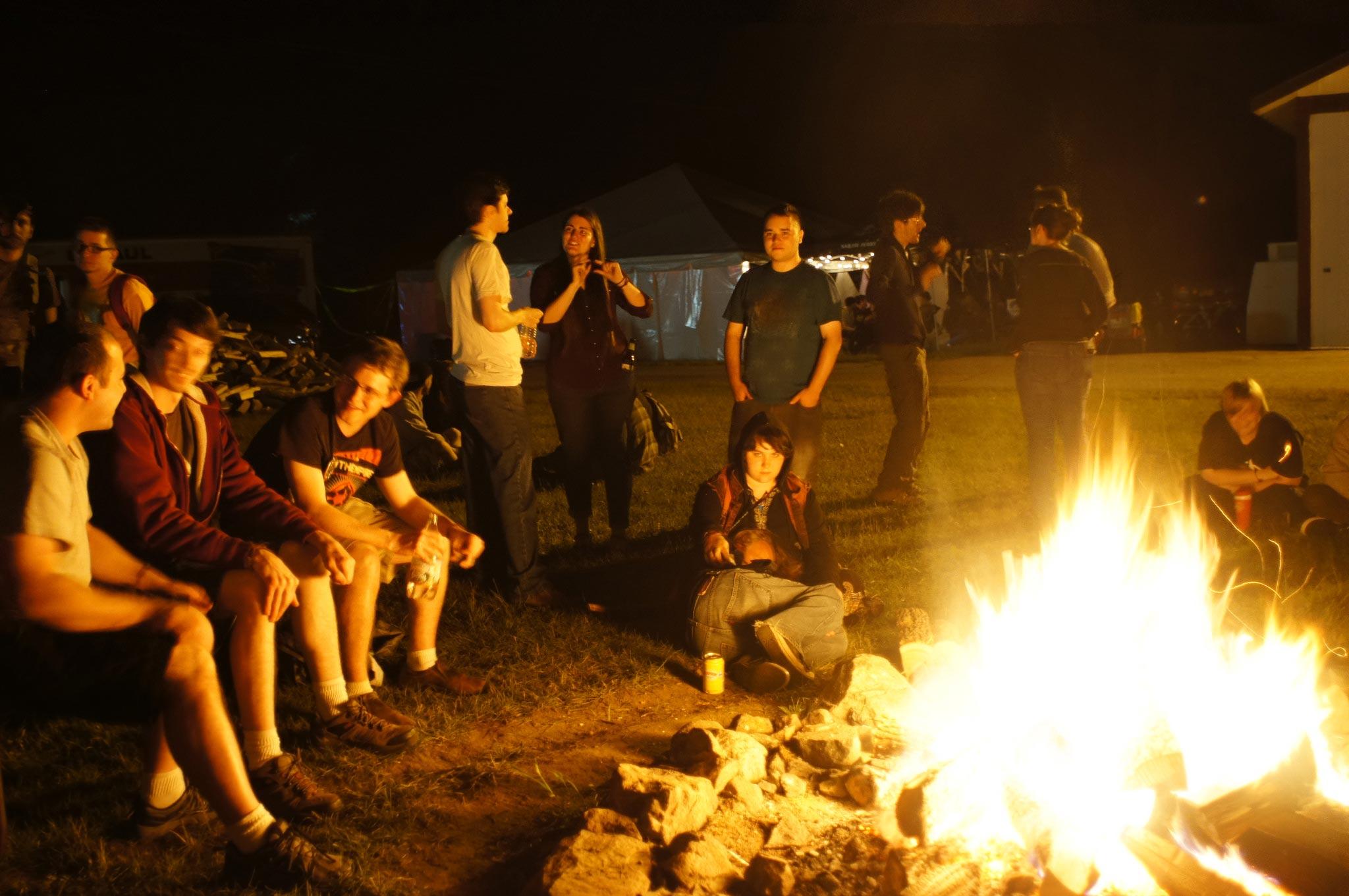 PorcFest fire