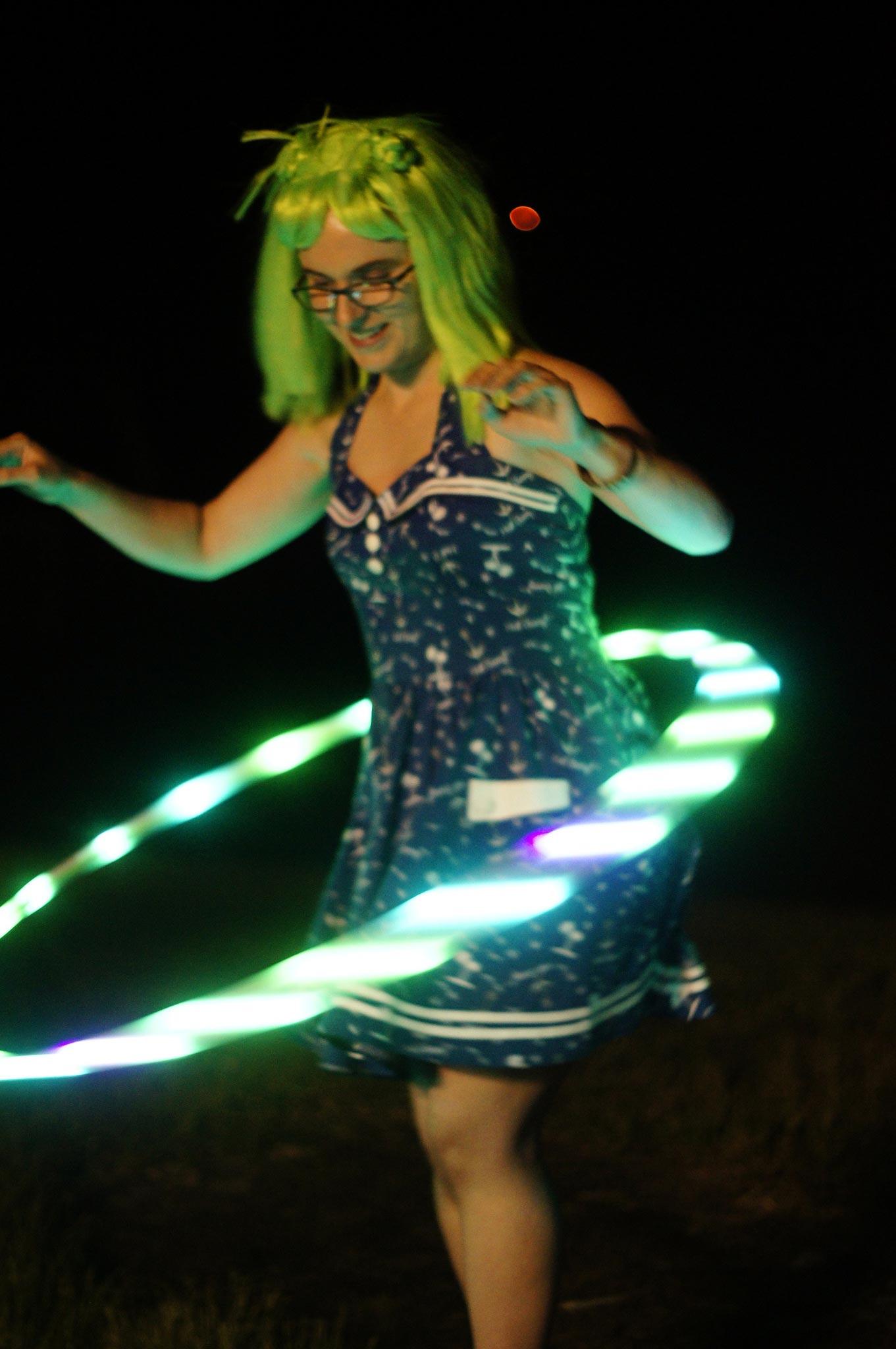 PorcFest hula hoop