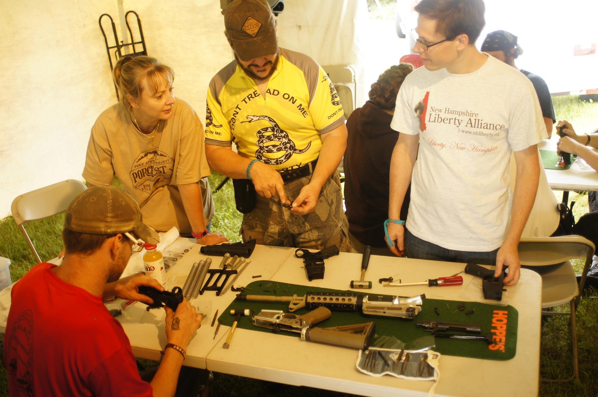 PorcFest gun