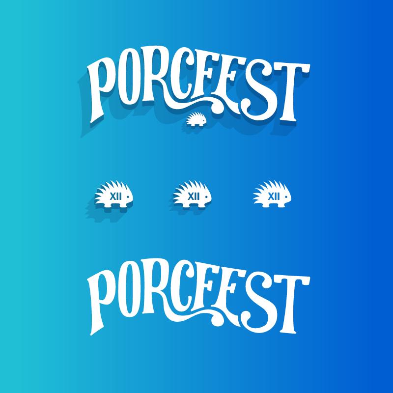 PorcFest logos