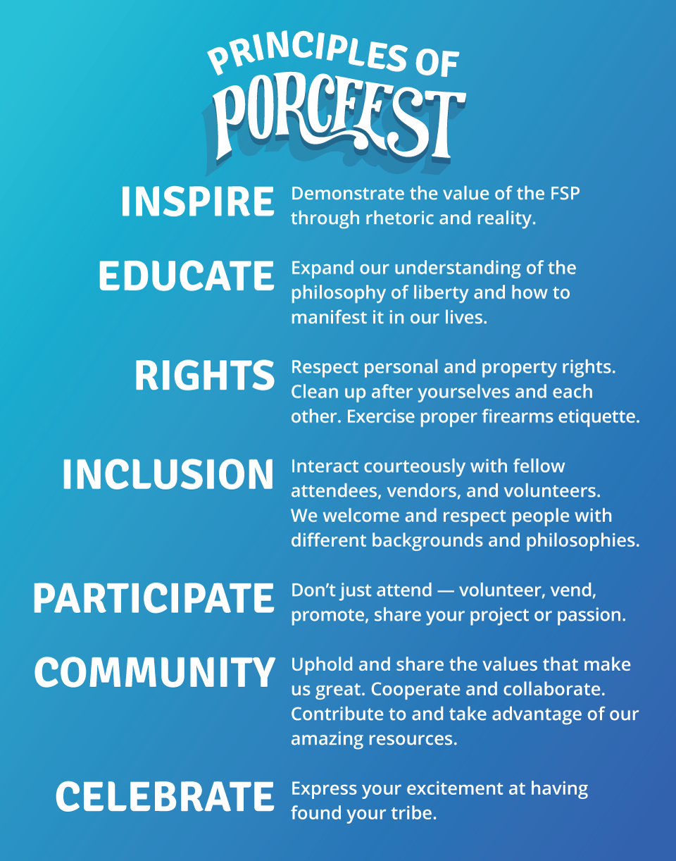 Principles of PorcFest