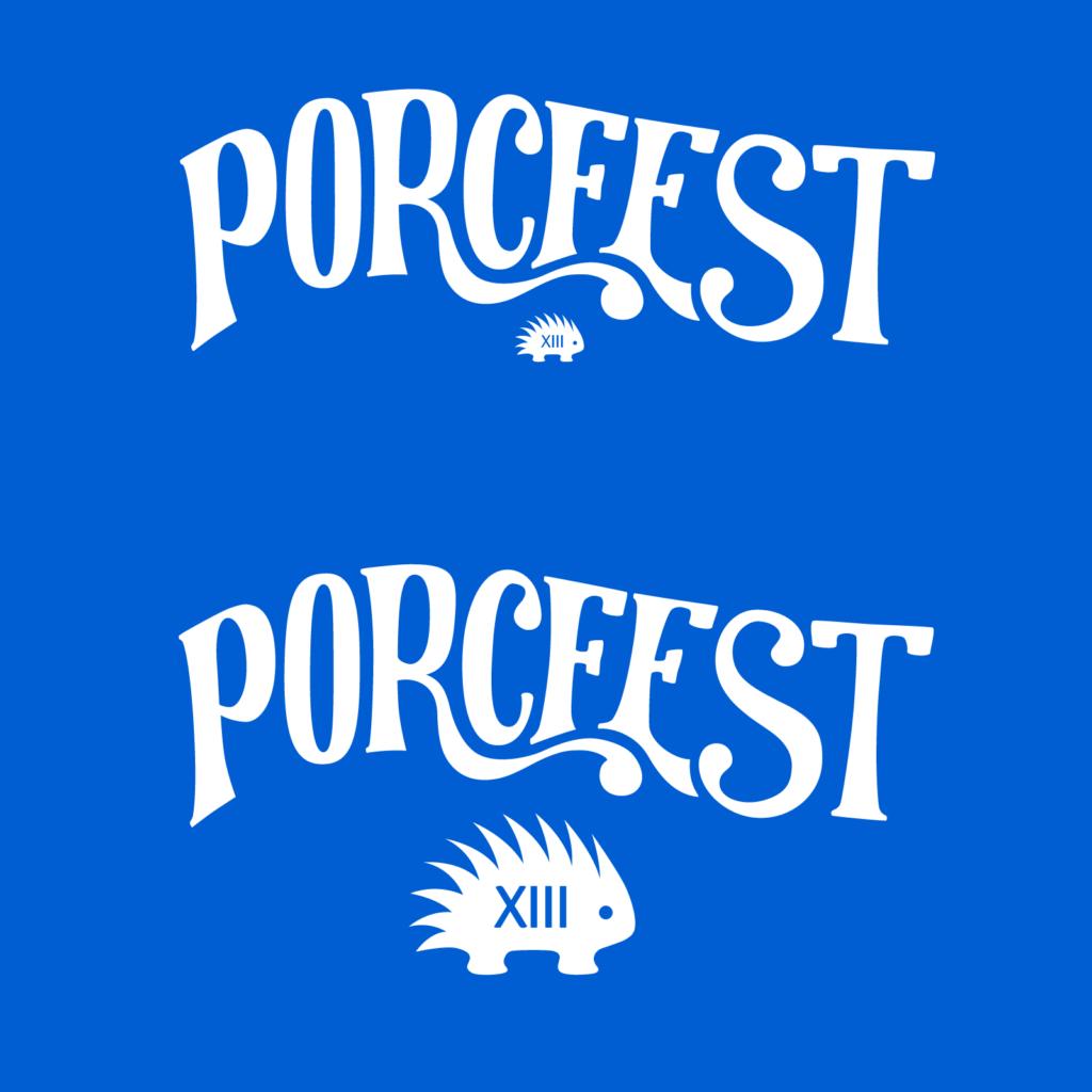 PorcFest XIII logos